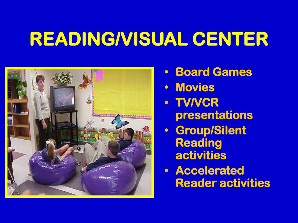 READING/VISUAL CENTER