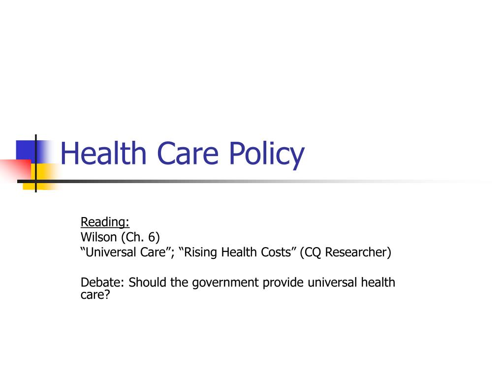 health care policy l.