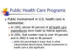 public health care programs10