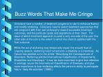 buzz words that make me cringe5