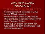 long term global participation