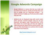 google adwords campaign2