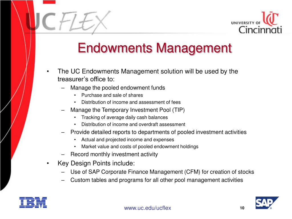 Endowments Management