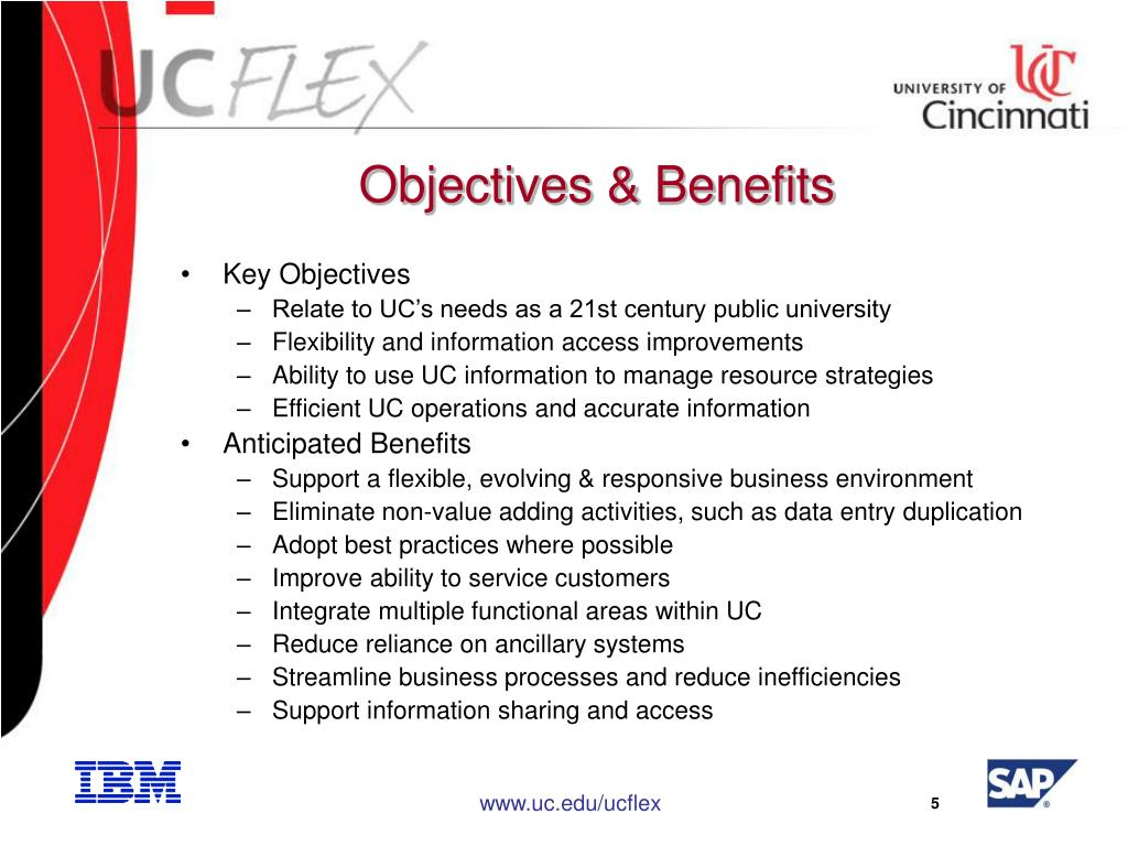 Objectives & Benefits