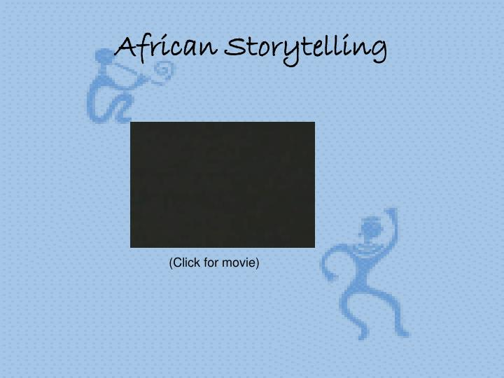 African storytelling