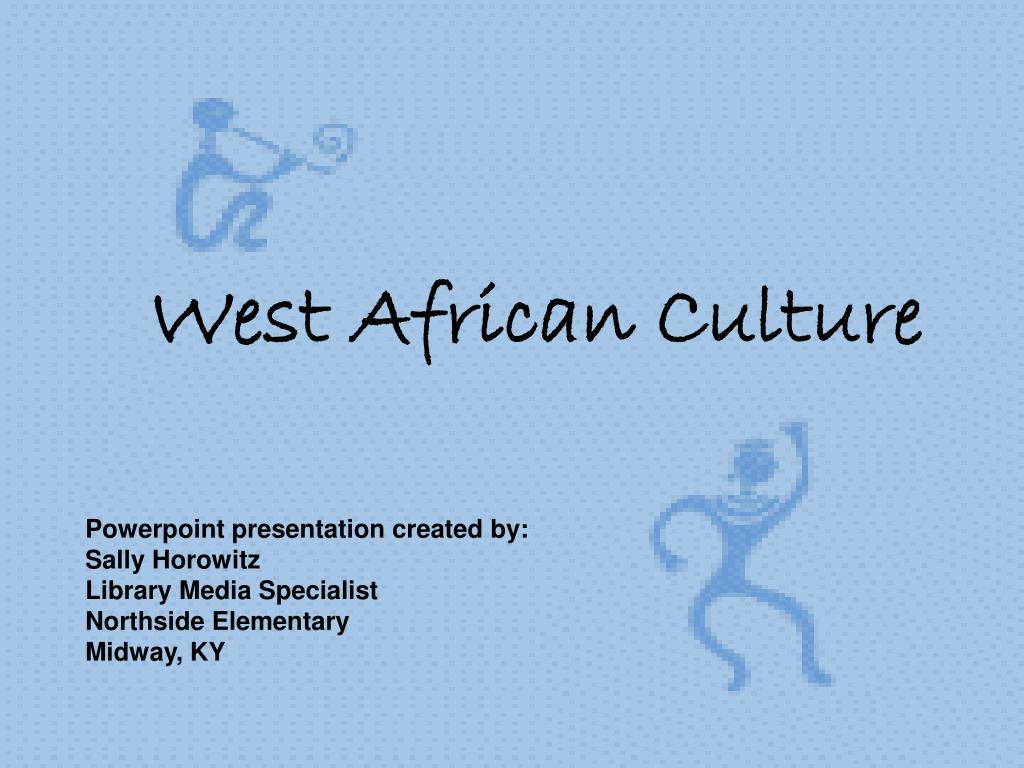 west african culture l.