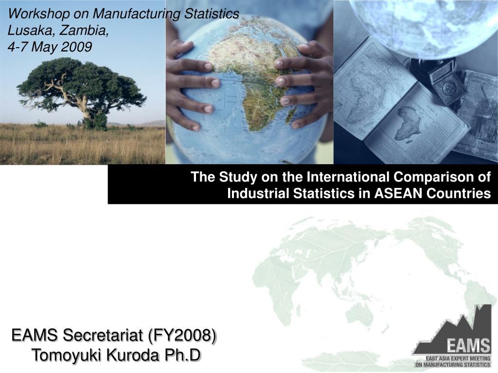 Workshop on Manufacturing Statistics
