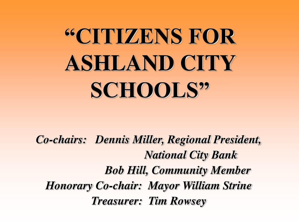 """CITIZENS FOR ASHLAND CITY SCHOOLS"""