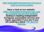 http www platinumcarservice com au content vw service sydney5