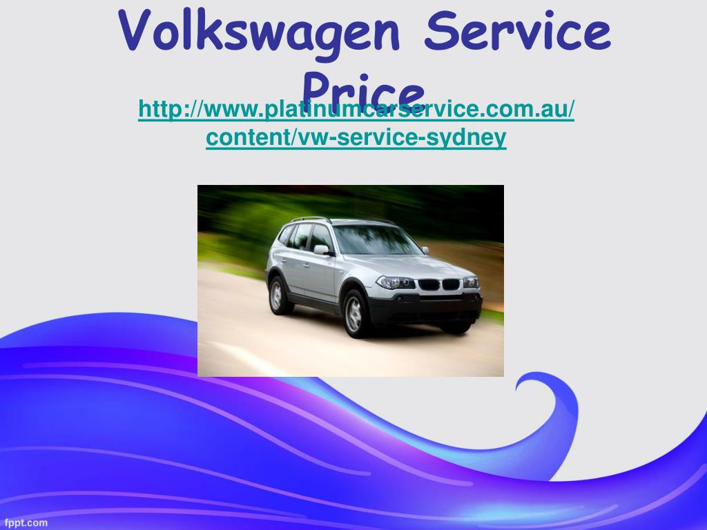 volkswagen service price l.