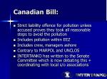 canadian bill