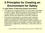 5 principles for creating an environment for safety9