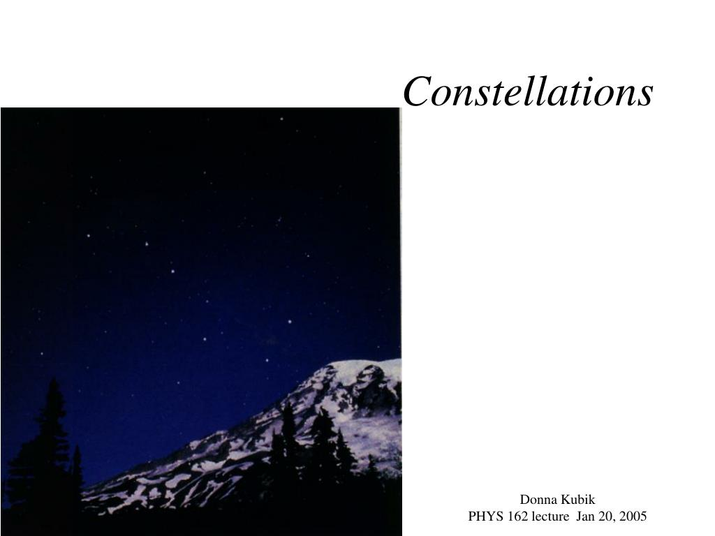 constellations l.