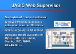 jasic web supervisor