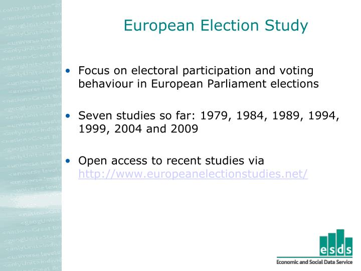 European Election Study