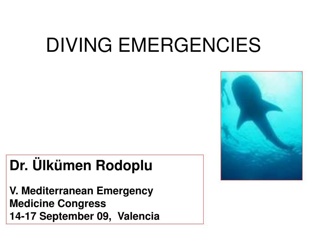 diving emergencies l.