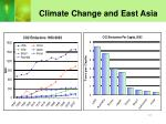climate change and east asia