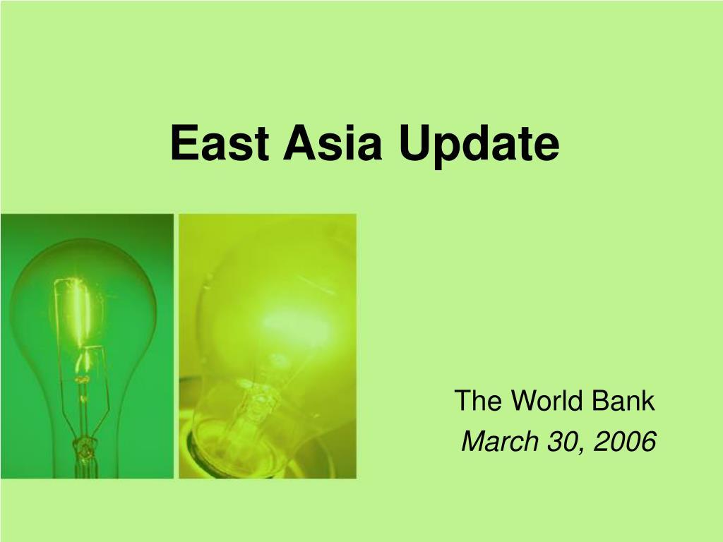 east asia update l.