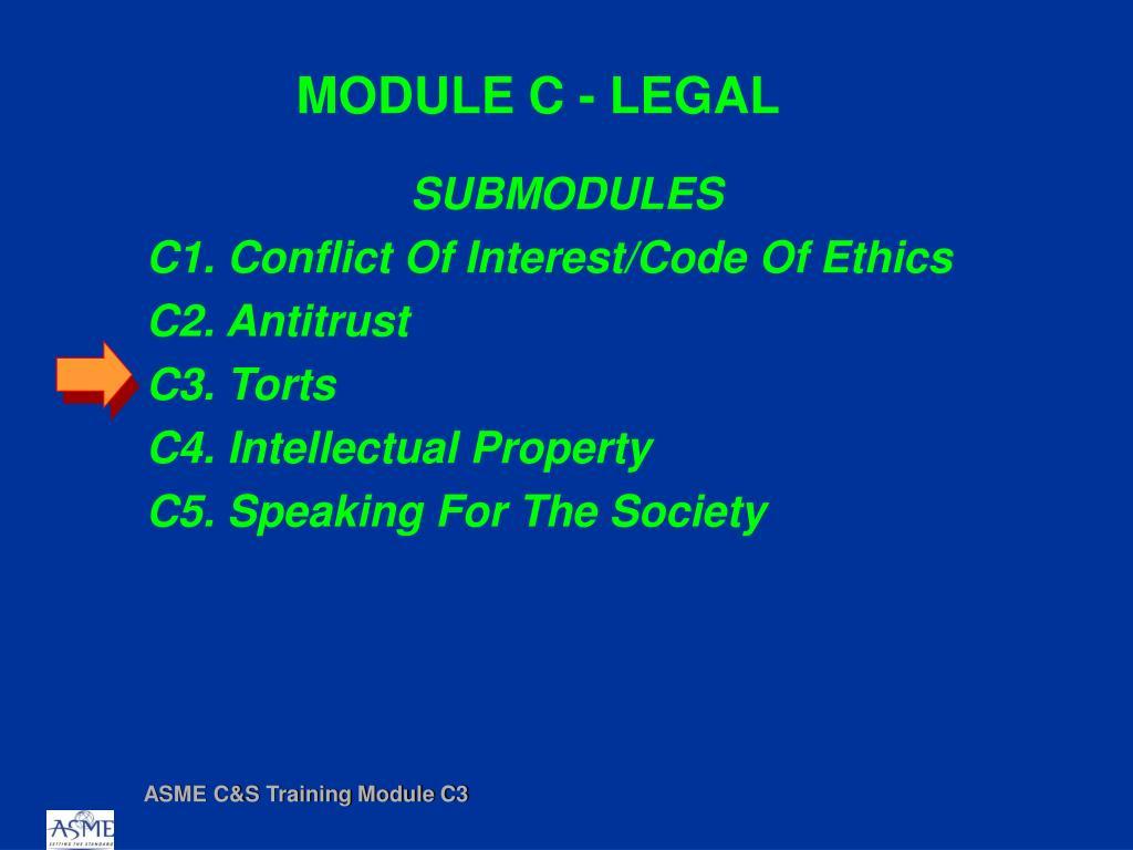 module c legal l.