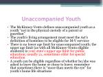unaccompanied youth