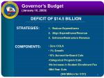 governor s budget january 10 2008