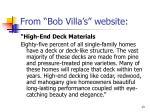 from bob villa s website