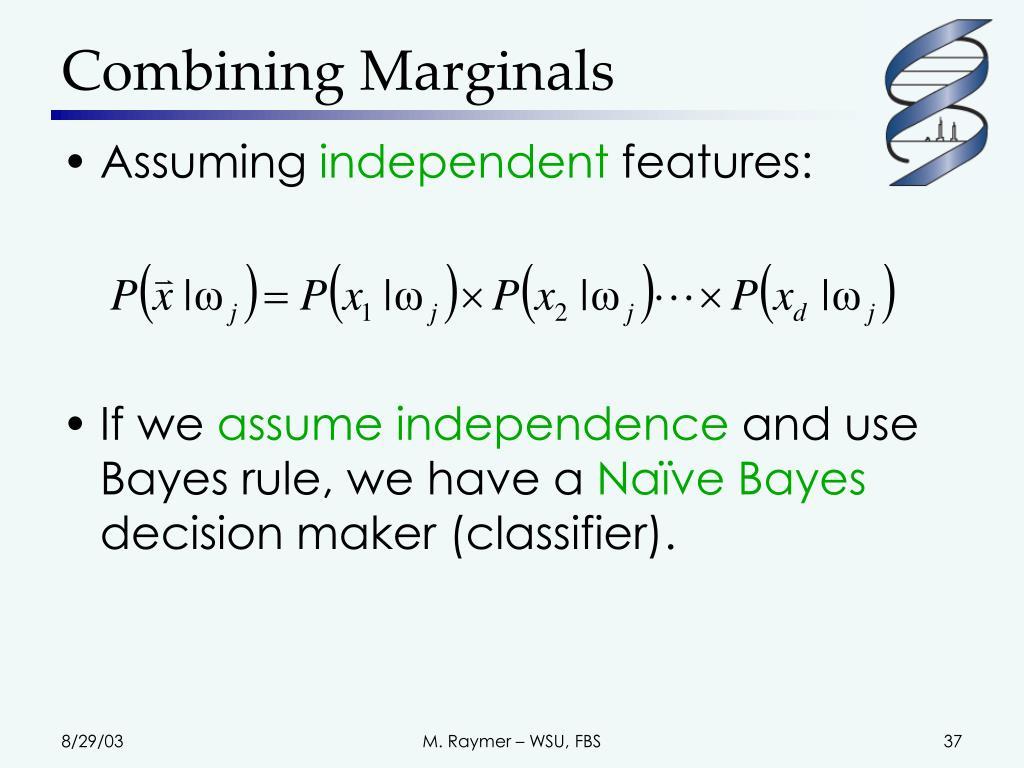 Combining Marginals