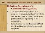 the crises of god s presence moses intercedes25