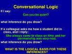 conversational logic