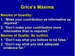 grice s maxims