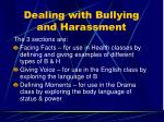 dealing with bullying and harassment42