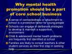 why mental health promotion should be a part of core school business6