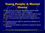 young people mental illness