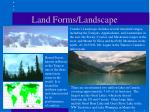 land forms landscape5