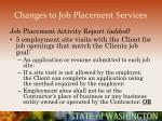 changes to job placement services34