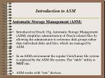 introduction to asm1
