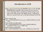 introduction to asm12