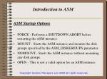 introduction to asm4