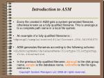 introduction to asm7