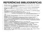 refer ncias bibliogr ficas