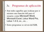 3c programas de aplicaci n