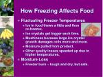 how freezing affects food5