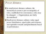 power distance1