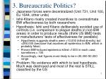 3 bureaucratic politics