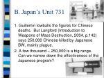 b japan s unit 731