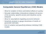 computable general equilibrium cge models