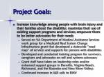 project goals5