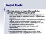 project goals9