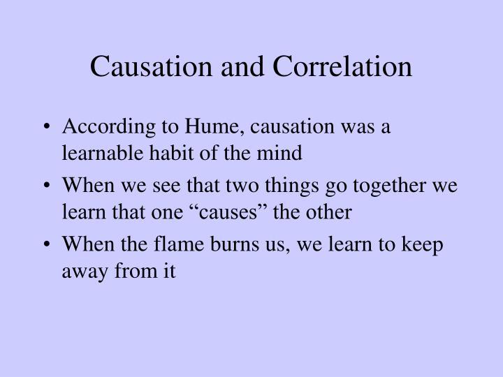Causation and Correlation