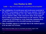 amy dunbar in 2001 audio http www cs trinity edu rjensen 002cpe 02start htm 2002